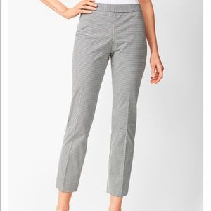Talbots TAILORED GINGHAM CROPS